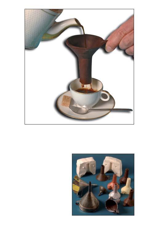 Entonnoir chocolat