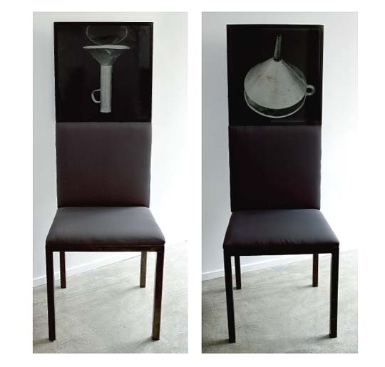Entonnoir chaise