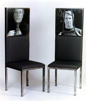 Furniture chair portrait