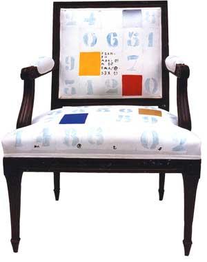 Numeric armchair